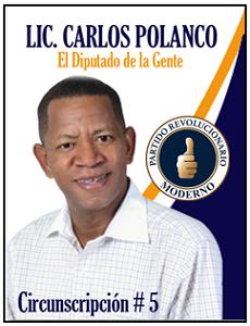 LIC. CARLOS POLANCO DIPUTADO
